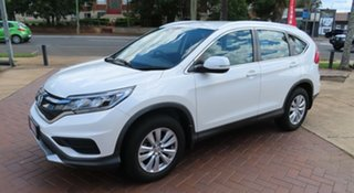 2015 Honda CR-V VTi White Automatic Wagon