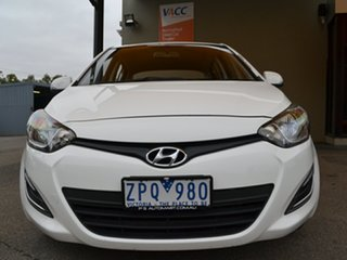 2013 Hyundai i20 PB MY13 Active White 4 Speed Automatic Hatchback