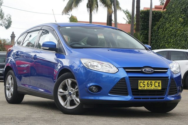 Pre-Owned Ford Focus LW MK2 Trend Mosman, 2013 Ford Focus LW MK2 Trend Blue 6 Speed Automatic Hatchback