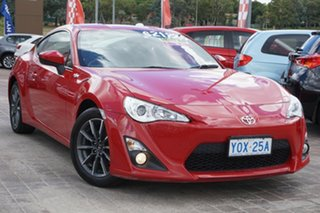 2012 Toyota 86 ZN6 GT Red 6 Speed Sports Automatic Coupe.