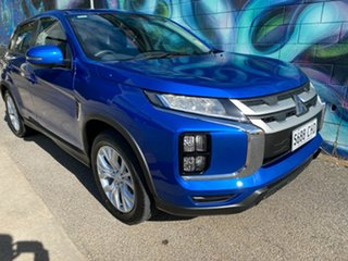 2020 Mitsubishi ASX XD MY21 ES 2WD ADAS Lightning Blue 1 Speed Constant Variable Wagon.