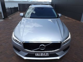 2019 Volvo XC60 UZ MY19 T5 AWD Momentum Silver 8 Speed Sports Automatic Wagon
