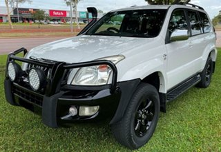 2007 Toyota Landcruiser Prado KDJ120R GXL White 6 Speed Manual Wagon