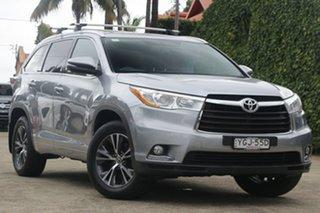 2016 Toyota Kluger GSU50R GXL (4x2) Silver Sky 6 Speed Automatic Wagon.