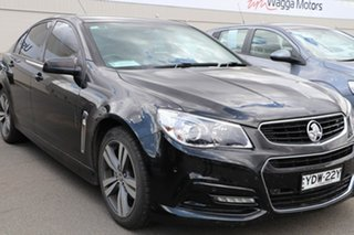 2015 Holden Commodore VF MY15 SV6 Black 6 Speed Manual Sedan.