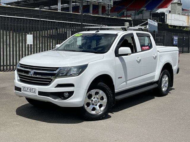 Used Holden Colorado RG MY17 LT Pickup Crew Cab 4x2 Newcastle, 2017 Holden Colorado RG MY17 LT Pickup Crew Cab 4x2 White 6 Speed Sports Automatic Utility