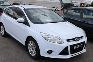 2014 Ford Focus LW MkII MY14 Trend White 5 Speed Manual Hatchback.