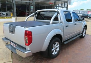 2014 Nissan Navara ST Silver 6 Speed Manual Dual Cab.