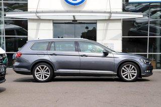 2015 Volkswagen Passat 3C (B8) MY16 140TDI DSG Highline Grey 6 Speed Sports Automatic Dual Clutch.