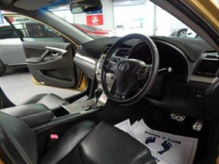 2007 Toyota Aurion GSV40R Sportivo ZR6 Yellow 6 Speed Sports Automatic Sedan