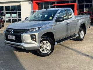 2020 Mitsubishi Triton MR MY20 GLX+ Club Cab Sterling Silver 6 Speed Sports Automatic Utility.