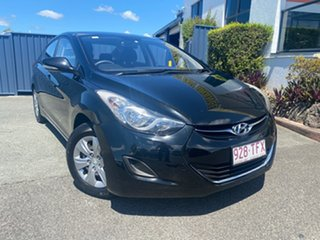 2013 Hyundai Elantra MD2 Active Black 6 Speed Sports Automatic Sedan.