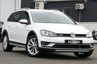 2017 Volkswagen Golf VII MY17 Alltrack DSG 4MOTION 132TSI White 6 Speed Sports Automatic Dual Clutch.