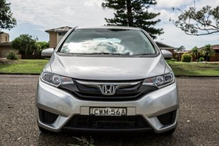 2014 Honda Jazz Vibe Silver 5 Speed Manual Hatchback.