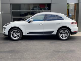 2018 Porsche Macan 95B MY18 PDK AWD White 7 Speed Sports Automatic Dual Clutch Wagon.