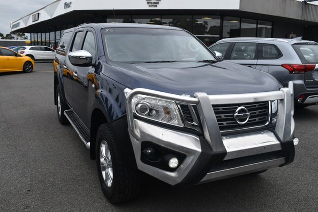 Used Nissan Navara D23 S2 ST Wantirna South, 2017 Nissan Navara D23 S2 ST Blue 6 Speed Manual Utility