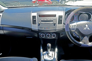 2011 Mitsubishi Outlander ZH MY11 Activ 2WD Grey 6 Speed Constant Variable Wagon