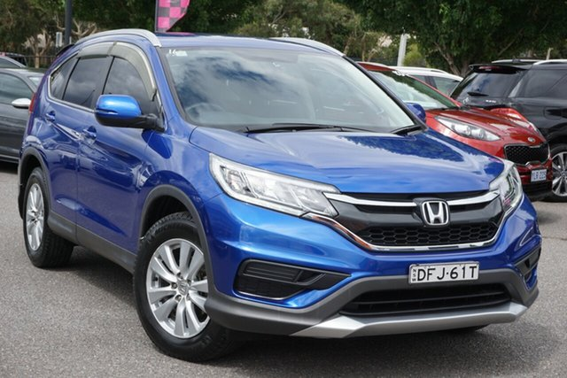 Used Honda CR-V RM Series II MY17 VTi Phillip, 2016 Honda CR-V RM Series II MY17 VTi Blue 5 Speed Automatic Wagon