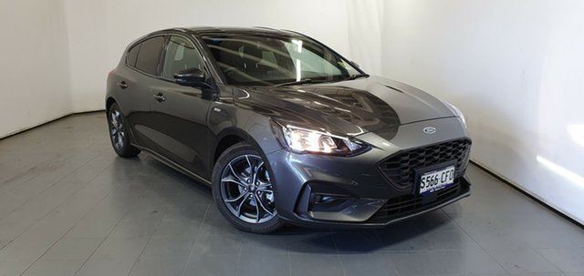 Used Ford Focus SA 2020.25MY ST-Line Elizabeth, 2020 Ford Focus SA 2020.25MY ST-Line Magnetic 8 Speed Automatic Hatchback