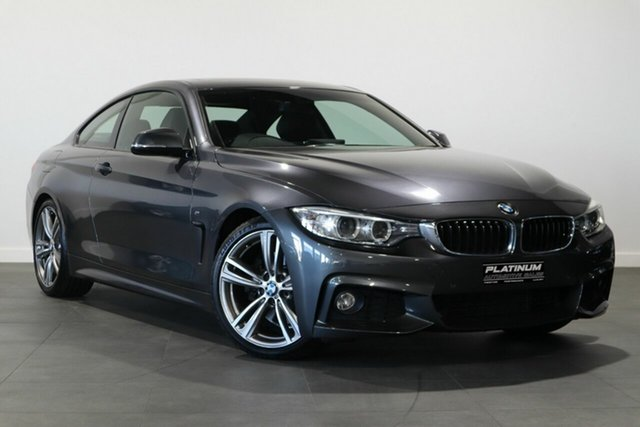 Used BMW 4 Series F32 428i M Sport Bayswater, 2014 BMW 4 Series F32 428i M Sport Grey 8 Speed Sports Automatic Coupe