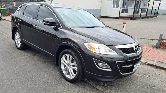 Used Mazda CX-9 10 Upgrade Luxury Prospect, 2011 Mazda CX-9 10 Upgrade Luxury Black Sapphire 6 Speed Auto Activematic Wagon