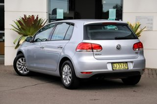 2010 Volkswagen Golf VI MY11 90TSI DSG Trendline Silver, Chrome 7 Speed Sports Automatic Dual Clutch.
