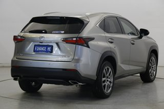 2017 Lexus NX AGZ10R NX200t 2WD Luxury Silver 6 Speed Sports Automatic Wagon
