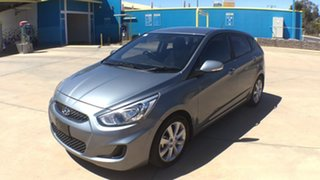 2018 Hyundai Accent RB6 MY18 Sport Lake Silver 6 Speed Sports Automatic Hatchback