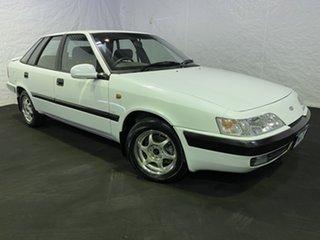 1996 Daewoo Espero White 4 Speed Automatic Sedan.