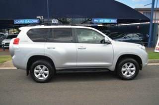 2012 Toyota Landcruiser Prado KDJ150R 11 Upgrade GXL (4x4) Silver 5 Speed Sequential Auto Wagon.