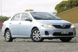 2010 Toyota Corolla ZRE152R Ascent Silver 4 Speed Automatic Sedan.