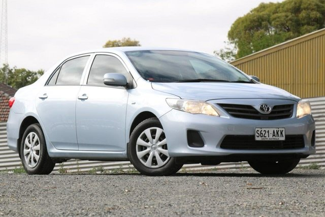 Used Toyota Corolla ZRE152R Ascent Clare, 2010 Toyota Corolla ZRE152R Ascent Silver 4 Speed Automatic Sedan