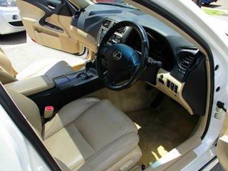 2006 Lexus IS250 White 4 Speed Automatic Sedan