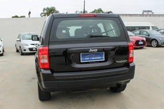 2015 Jeep Patriot MK MY15 Sport CVT Auto Stick 4x2 Black 6 Speed Constant Variable Wagon