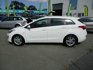 2012 Hyundai i30 White 4 Speed Automatic Wagon
