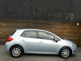 2007 Toyota Corolla ZRE152R Ascent Blue 6 Speed Manual Hatchback.