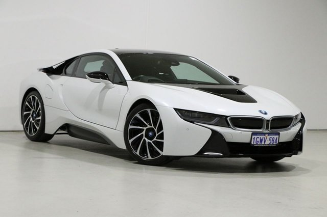 Used BMW i8 I12 PHEV Bentley, 2015 BMW i8 I12 PHEV White 6 Speed Automatic Coupe