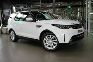 2018 Land Rover Discovery Series 5 L462 MY19 SE White 8 Speed Sports Automatic Wagon.