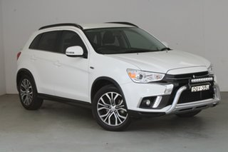 2017 Mitsubishi ASX XC MY18 LS 2WD White 5 Speed Manual Wagon.