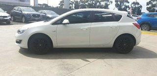 2012 Opel Astra AS Select White 6 Speed Manual Hatchback