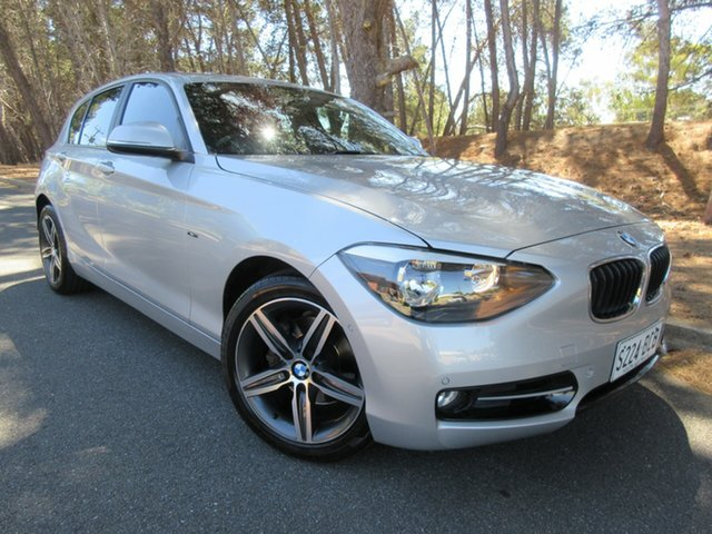 Used BMW 118i F20 118i Reynella, 2013 BMW 118i F20 118i Silver 8 Speed Sports Automatic Hatchback