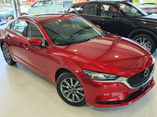 2020 Mazda 6 Sport Red 6 Speed Automatic Sedan