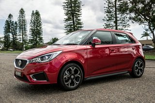 2020 MG MG3 SZP1 MY20 Excite Bristol Red 4 Speed Automatic Hatchback