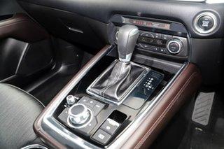 2018 Mazda CX-8 KG2W2A Sport SKYACTIV-Drive FWD Deep Crystal Blue 6 Speed Sports Automatic Wagon