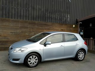 2007 Toyota Corolla ZRE152R Ascent Blue 6 Speed Manual Hatchback