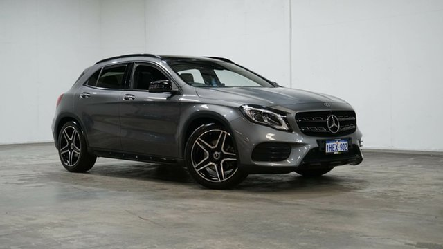 Used Mercedes-Benz GLA-Class X156 809+059MY GLA250 DCT 4MATIC Welshpool, 2019 Mercedes-Benz GLA-Class X156 809+059MY GLA250 DCT 4MATIC Grey 7 Speed