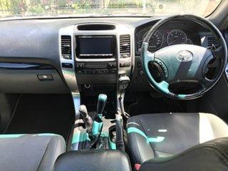 2008 Toyota Landcruiser Prado KDJ120R VX White 5 Speed Automatic Wagon