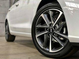 2020 Hyundai i30 PD.V4 MY21 Active White 6 Speed Sports Automatic Hatchback