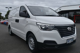 2018 Hyundai iLOAD TQ4 MY19 White 5 Speed Automatic Van.