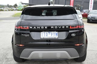 2019 Land Rover Range Rover Evoque L551 MY20 D150 S Black 9 Speed Sports Automatic Wagon